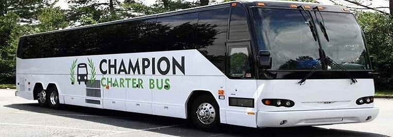 Champion Charter Bus Aurora